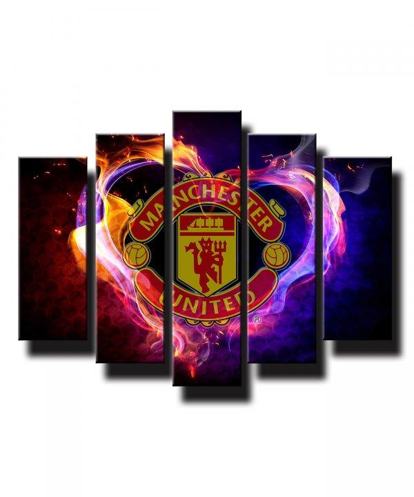 5 dielny obraz na stenu Manchester United