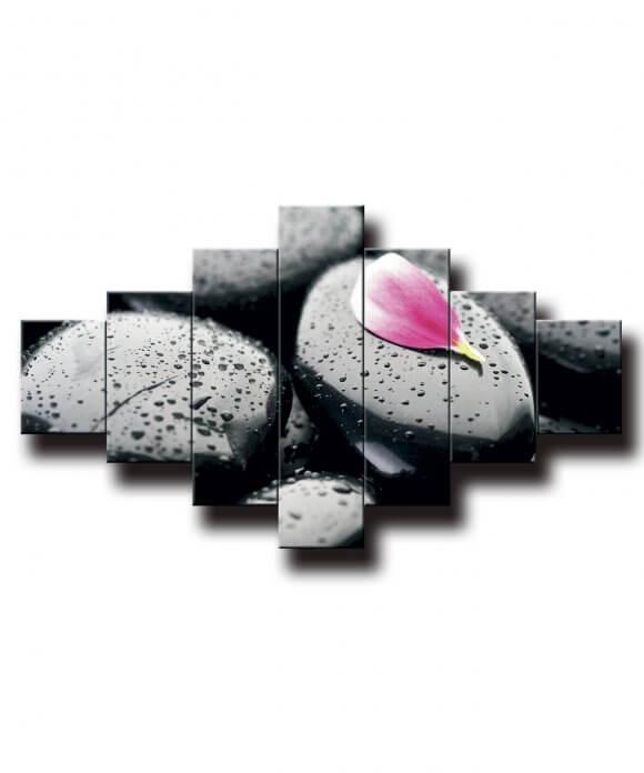 obraz na stenu feng shui kamen s lupienkom